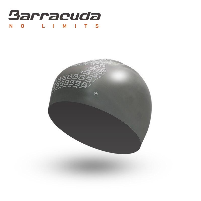 Barracuda Acessórios 3D CAP SILICONE (Padrão Logotipo) de Silicone À Prova D' Água Livre de Rugas Cor Sólida Confortável para Mulheres Dos Homens