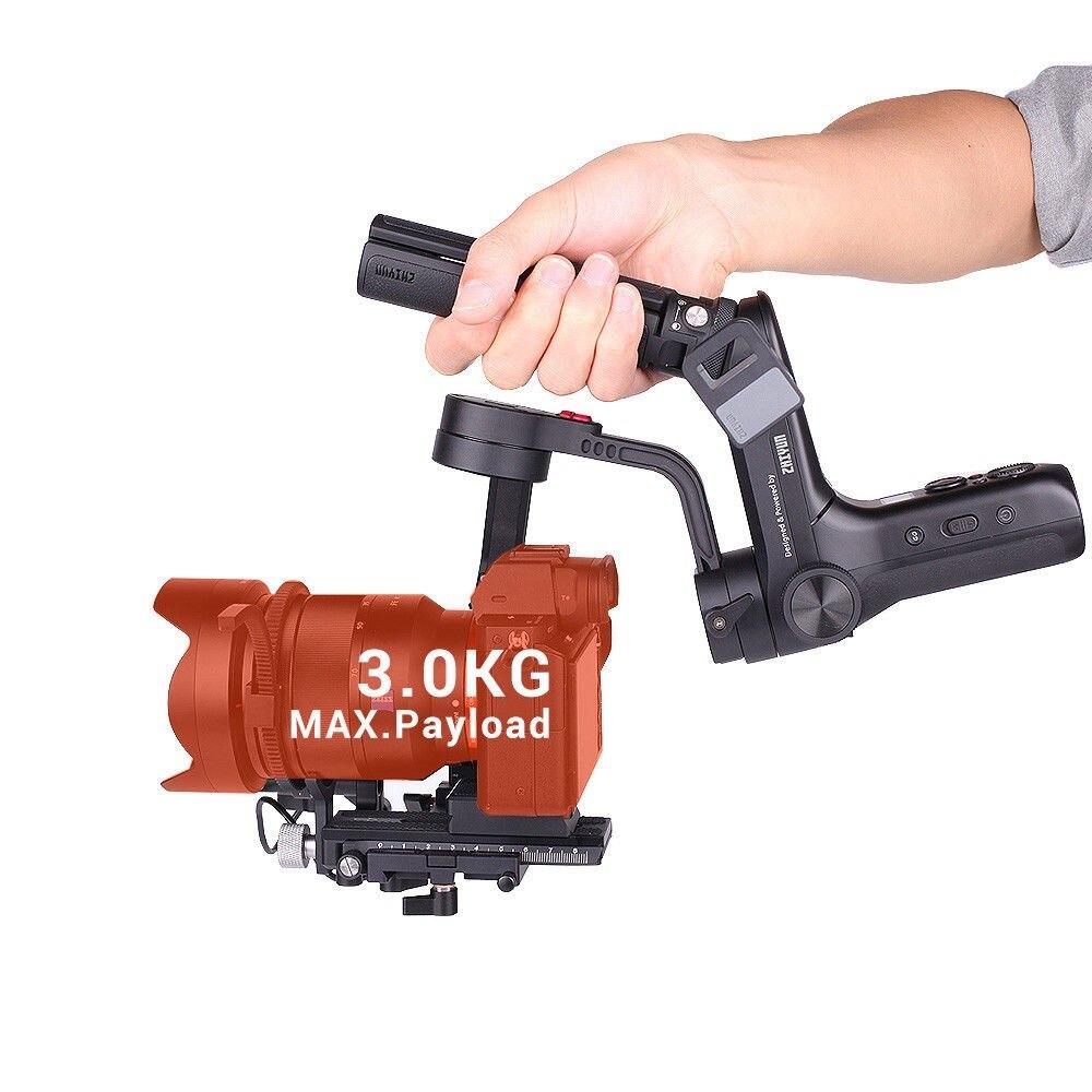 ZHIYUN WEEBILL LABORATOIRE 3-Axe Image Transmission Stabilisateur pour appareil Photo Sans miroir Capteur Contrôle De Poche Cardan