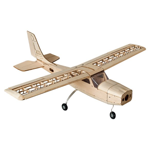 Cessna 960mm Wingspan Balsa Wood RC Airplane KIT все цены