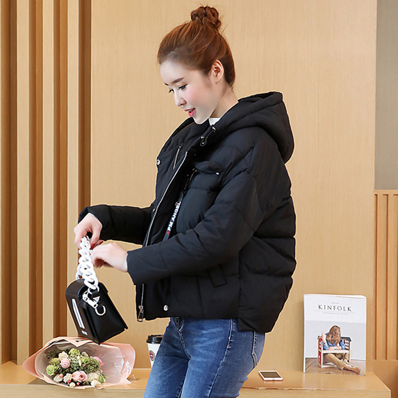women winter hooded jacket Loose large yards outwear high quality warm   Parka   Overcoat Female