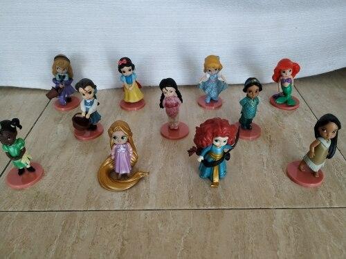 Figuras de ação disney princesa brinquedos
