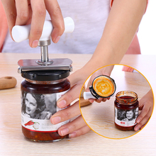 2017 NEW Multifunctional Bottle Cap Opener Screw Salad Jar Glass Bottle Stainless Steel Cover Open Easy Kitchen Tools Gadgets Ac