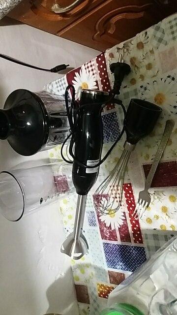 3 в 1 блендер погружной Comfee CF-BL801, мощность 550-1200 Вт, 2 скорости.