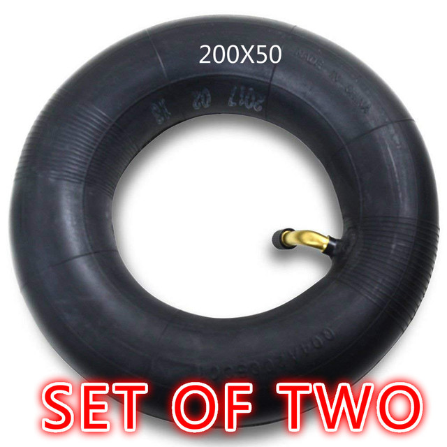 Replacement 200x50 Scooter Inner Tube for the Electric Razor e100 ...