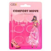 Comfort Move гелевые подушечки против давления и натирания обуви, 6 шт. в упаковке, GESS