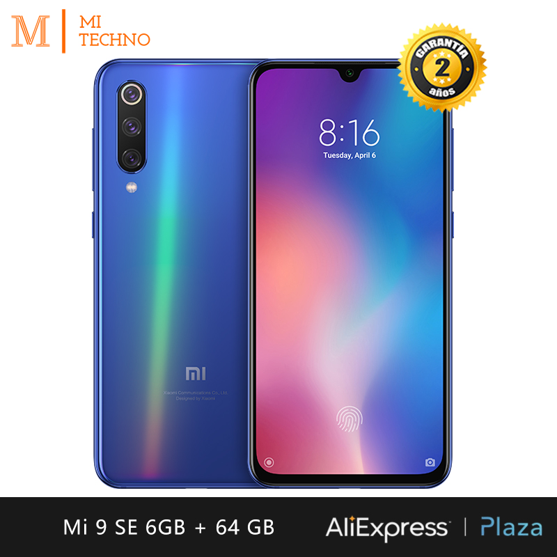 [Version globale] Xiaomi Mi 9 SE Smartphone AMOLED 5,97 (6Go RAM + 64Go ROM Triple caméra phare 48 MP avec AI)