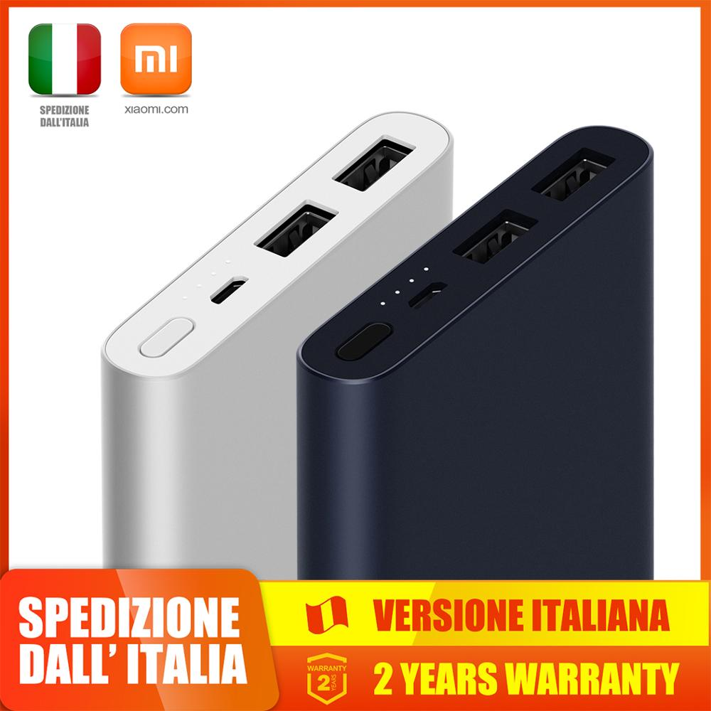 Xiaomi 10000 MAh Mi Power Bank 2S Dual USB Output Fast Charge Two-way In Lithium Polymer Battery Lithium Battery