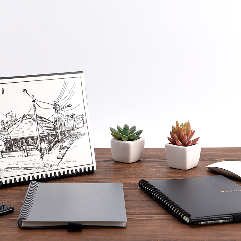Elfin Smart Notebook/A5 Notebook Paper Suitable for Students/Kids/Artists 5