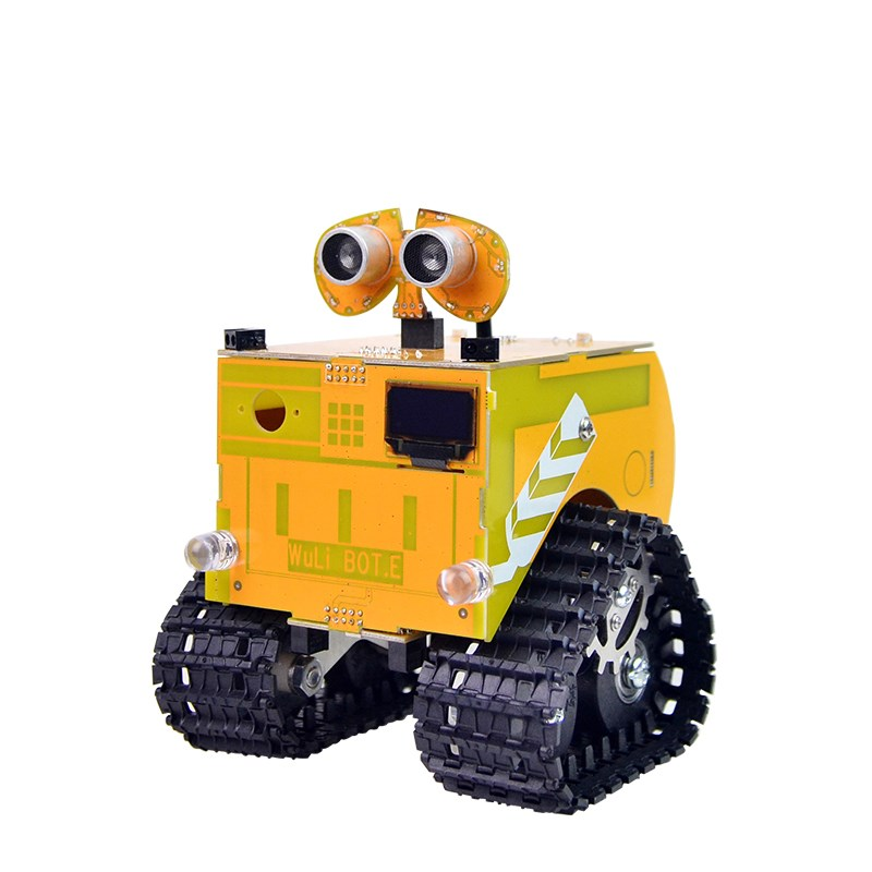 Xiao R Wuli Bot Scratch STEAM Programming Robot APP Remote Control Ard uino UNO R3 for Kids Students Science Intelligence Models