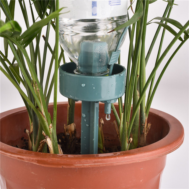 1pcs Automatic Self Watering Device DIY Lazy Environmental Moving Water Drip Watering Seepage Controller For Plant Greenhouse