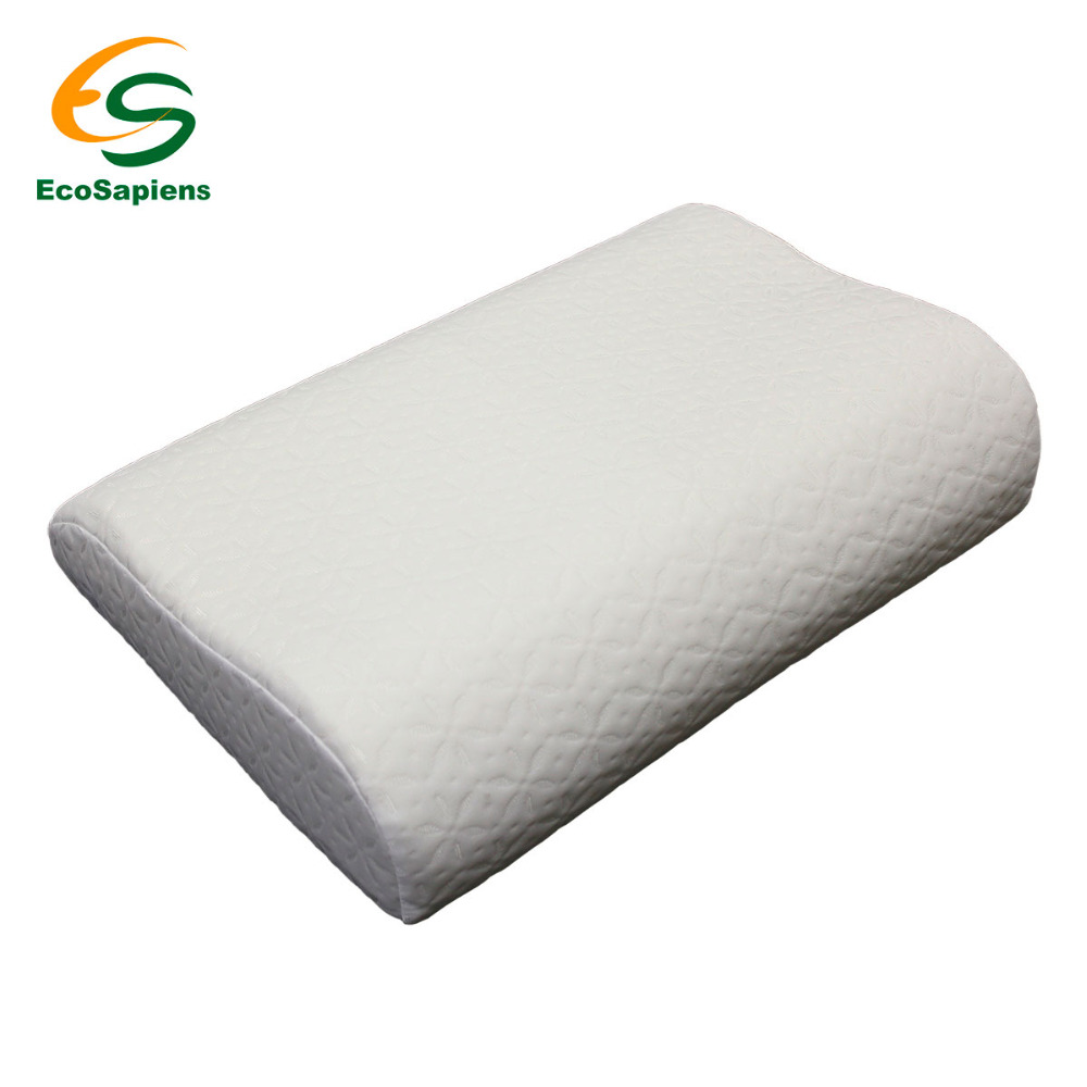Soft Memory Foam Neck Sleeping Pillow Massager Fiber Slow Rebound Foam Home Bedding Orthopedic Pillow Memory PLUS (60*40*11/13) cute 70cm super soft pillow doll white sleeping bear cub plush toy