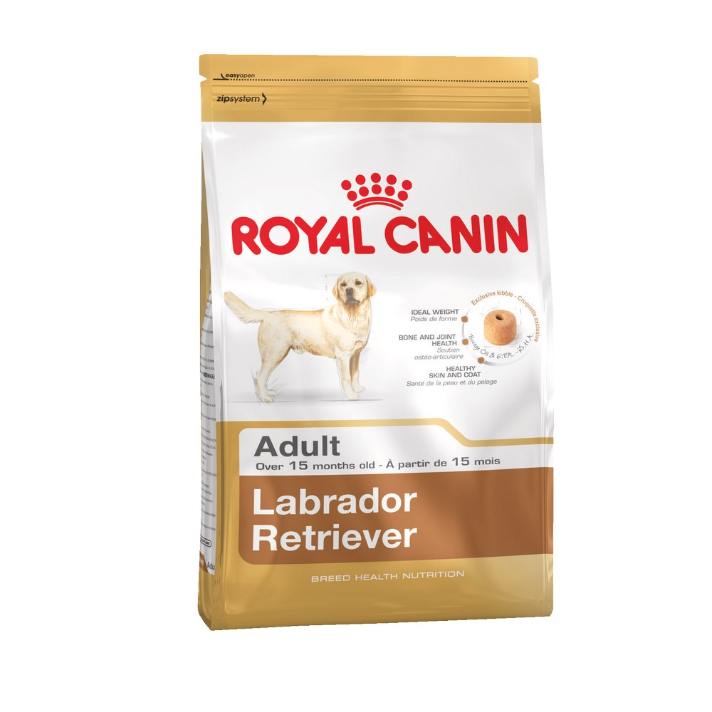 Dog Food Royal Canin Labrador Retriever Adult, 3 kg royal canin royal canin labrador retriever adult 3 кг