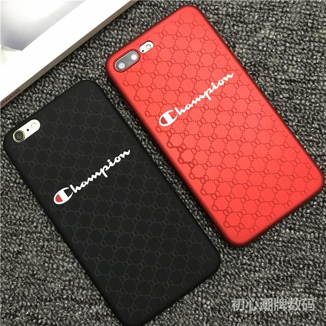 Champion Phone Case iPhone 6 6plus 6s plus 7 7plus 8 X i8