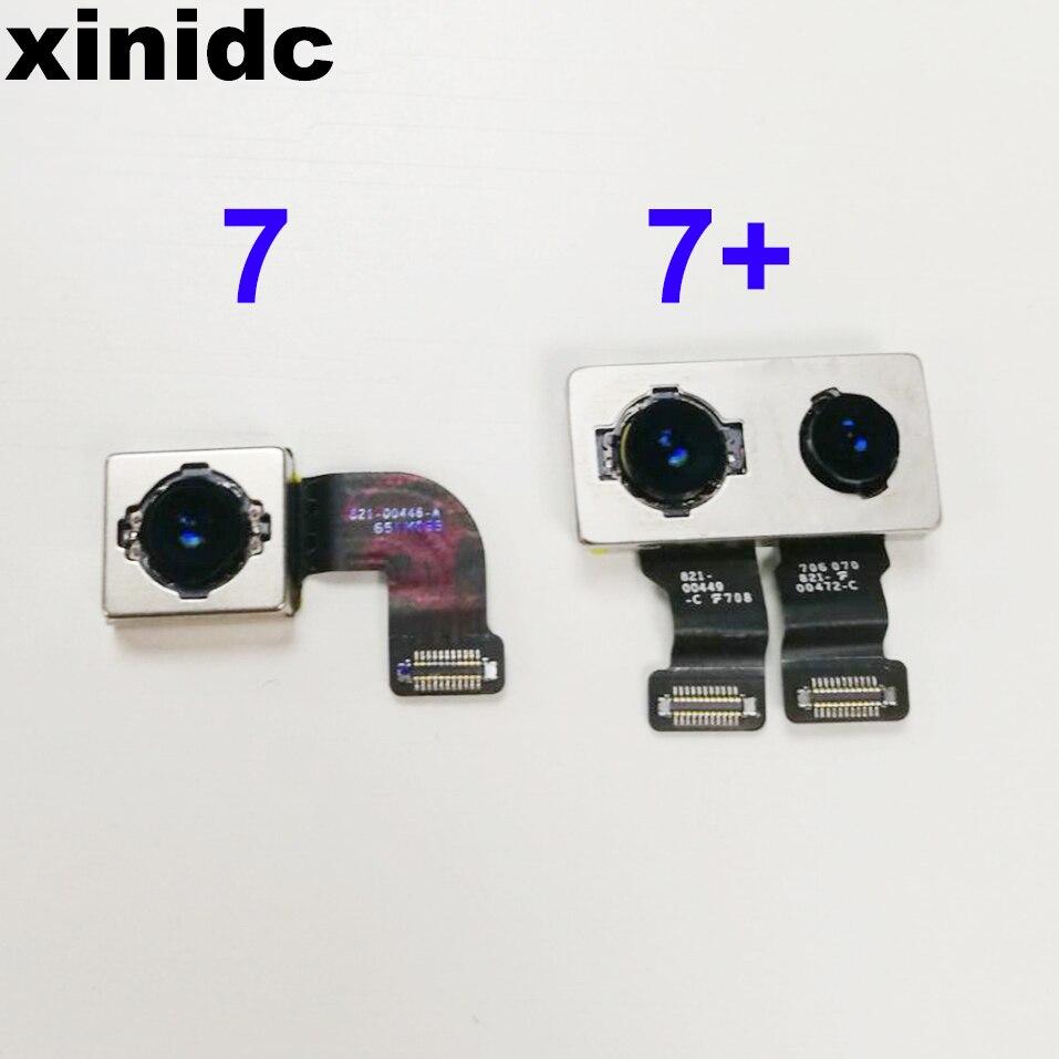 Xinidc Retour Caméra pour iPhone 7 7 Plus 8 8 Plus X Arrière Caméra avec Flex Câble Pièces De Rechange