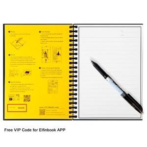 Image 5 - Elfinbook Smart Reusable Erasable Spiral A5 B5 Notebook Paper Notepad Journal Drawing Painting Pocketbook like Rocketbook