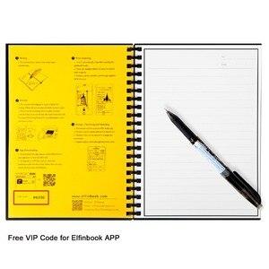 Image 5 - Elfinbook Smart Riutilizzabile Cancellabile A Spirale A5 B5 Carta Notebook Notepad Ufficiale Disegno Pittura Pocketbook come Rocketbook