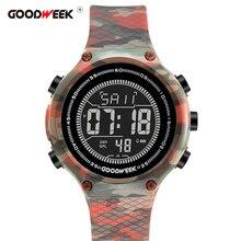 GOODWEEK Men Sport  Watch Led Digital Watches Analog Military Army Waterproof Electronics Wrist Watches Reloj Hombre все цены