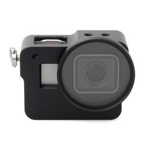 Image 4 - EACHSHOT Aluminium Alloy Skeleton Thick Solid Protective Case Shell with 52mm Uv Filter for Gopro Hero 7 6 5 Camera