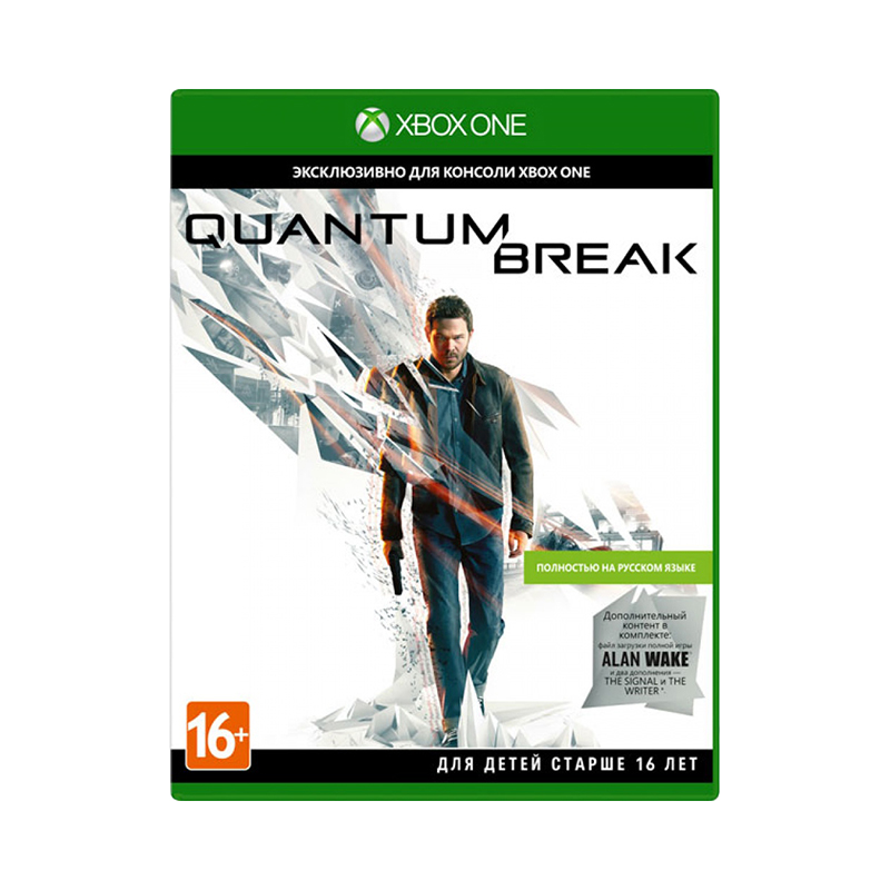 Game Deal Xbox One Quantum Break Russian Blu-ray цена