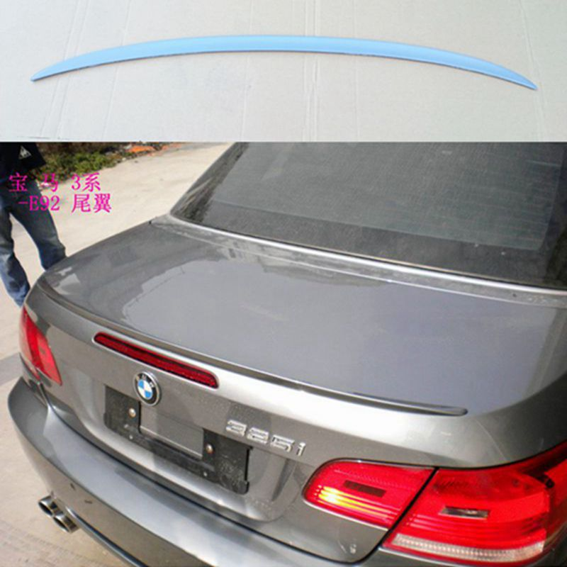 For BMW E92 Spoiler 3 Series 2 Door E92 M3 & E92 Coupe Carbon M3 Style Spoiler Performance Style 2005 - 2012 for bmw e92 carbon fiber spoiler p style 3 series e92