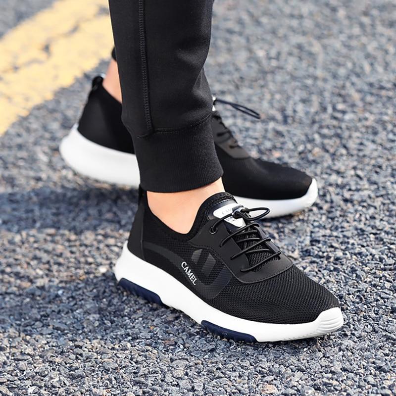 CAMEL hommes chaussures de marche Sport mode coréen chaussures en maille respirant hommes baskets chaussures de Sport pour courir chaussures de plein air - 4