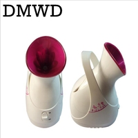 DMWD Facial Face Ionic Steamer Electric Mist Steam Sprayer Spa Skin Vaporizer Mini Nano Warm Fog