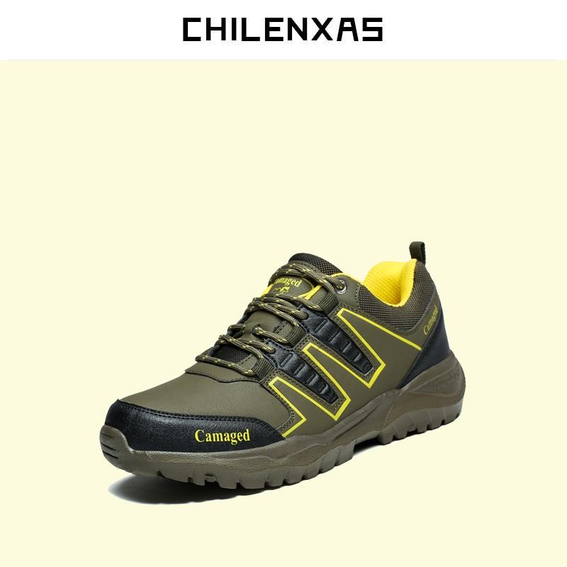 CHILENXAS 2017 Autumn Winter Large Size 35 45 font b Shoes b font Men Waterproof Lovers