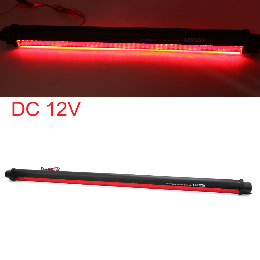 UXCELL Universal Red 80 Led Car Third Rear Tail Brake Light High Mount Stop Lamp 12V