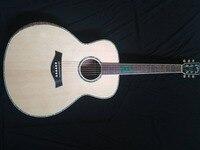 free shipping 2018 NEW Byron custom jumbo acoustic guitar 8sounds music 43 inches matt finish guitar