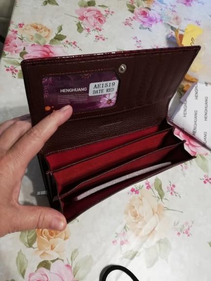 кожаный бумажник женщин; держатель кредитной карты ; коричневый клатч; Сач;