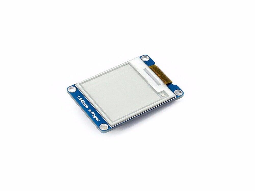 Image 2 - 1,54 дюймовый e бумажный Модуль 200x200 E Ink дисплей экран 2 цвета черный и белый SPI широкий угол обзора поддерживает частичное обновление-in Доски для показов from Компьютер и офис