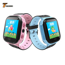 TOMU Kids Smart Watch Touch Screen Phone Positioning SOS Call LBS Location Tracker for Children Anti Lost Monitor Boy Girl Y21 стоимость