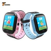 TOMU Kinder Smart Uhr Touchscreen telefon Positionierung Sos ruf LBS Lage Tracker für Kinder Anti Verloren Monitor Junge Mädchen Y21-in Smart Watches aus Verbraucherelektronik bei