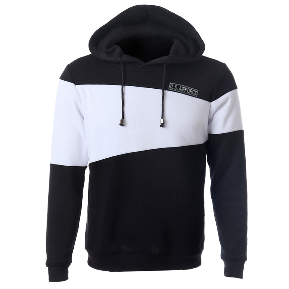 New Arrival Men Sweatershirt 2018 New Mens Fashion Casual Hooded Pullover Hoodie Sweatershirt Fitness Men Clothing