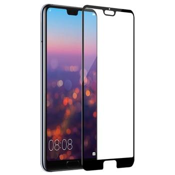 Per huawei p20 pro protezione dello schermo di vetro pieno coperto nillkin 3D CP + 9 H 0.33 millimetri sottile per huawei p20pro vetro curvo 6.21 pollici