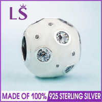 LS 100 Real 925 Sterling Silver Pearlescent Dreams MURANO CHARM Fit Original Bracelets Pulseira Encantos Beads