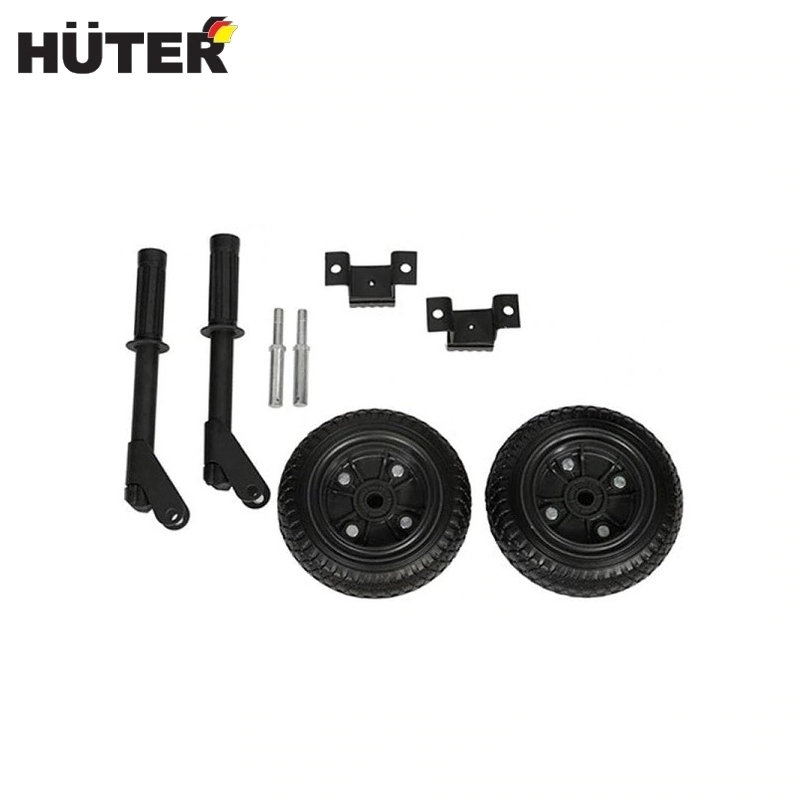 Wheel kit and handles for petrol generator DY8000 GF HUTER Shipping set Spare set of wheels and handles propeller blade protective guard set 4pcs set spare parts