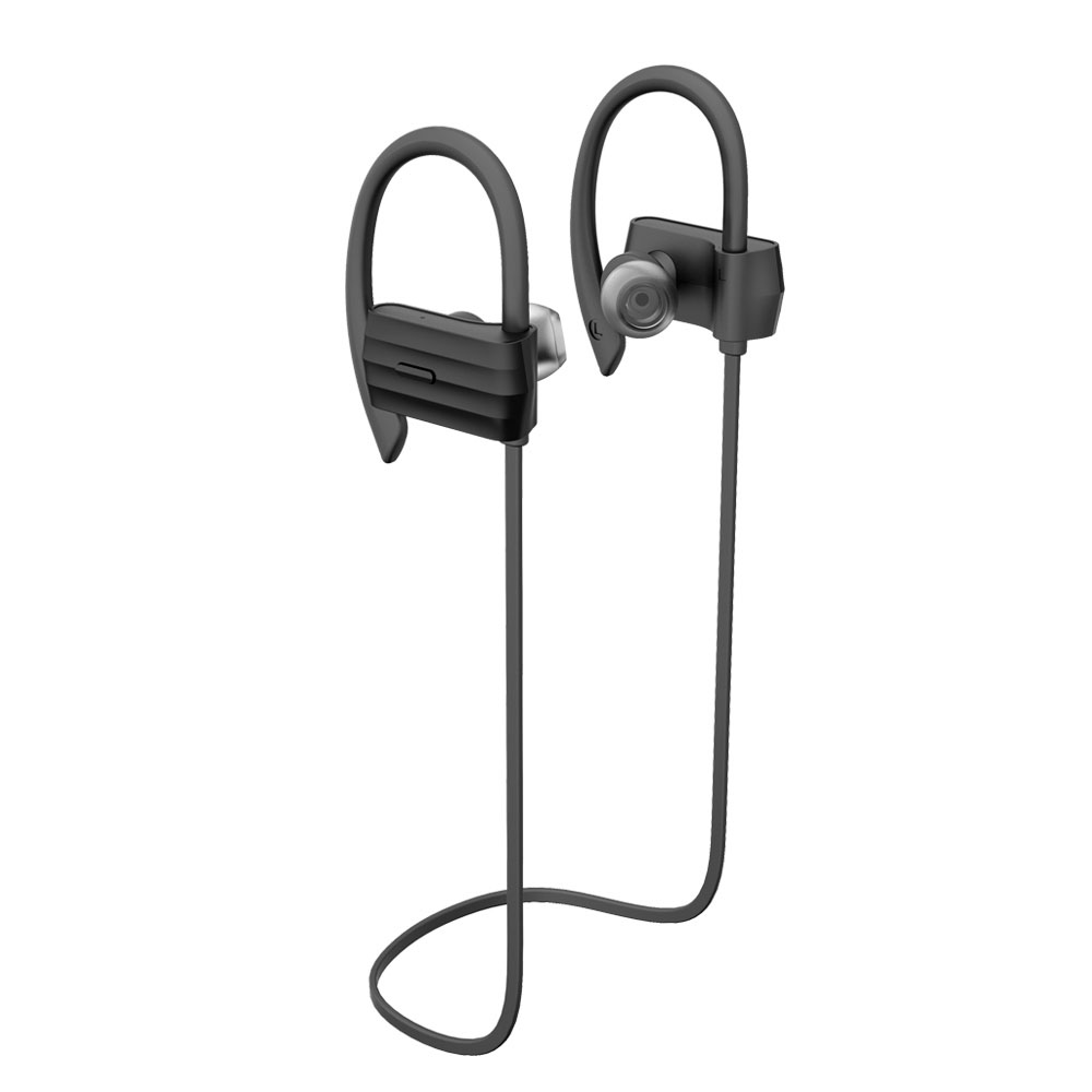 Shinco W600 Mobile phone sports Bluetooth headset running wireless universal stereo ear hanging earplugs wireless music bluetooth headset 4 mini head wear sport ear hanging ear type 4 1 universal running stereo can insert card radio
