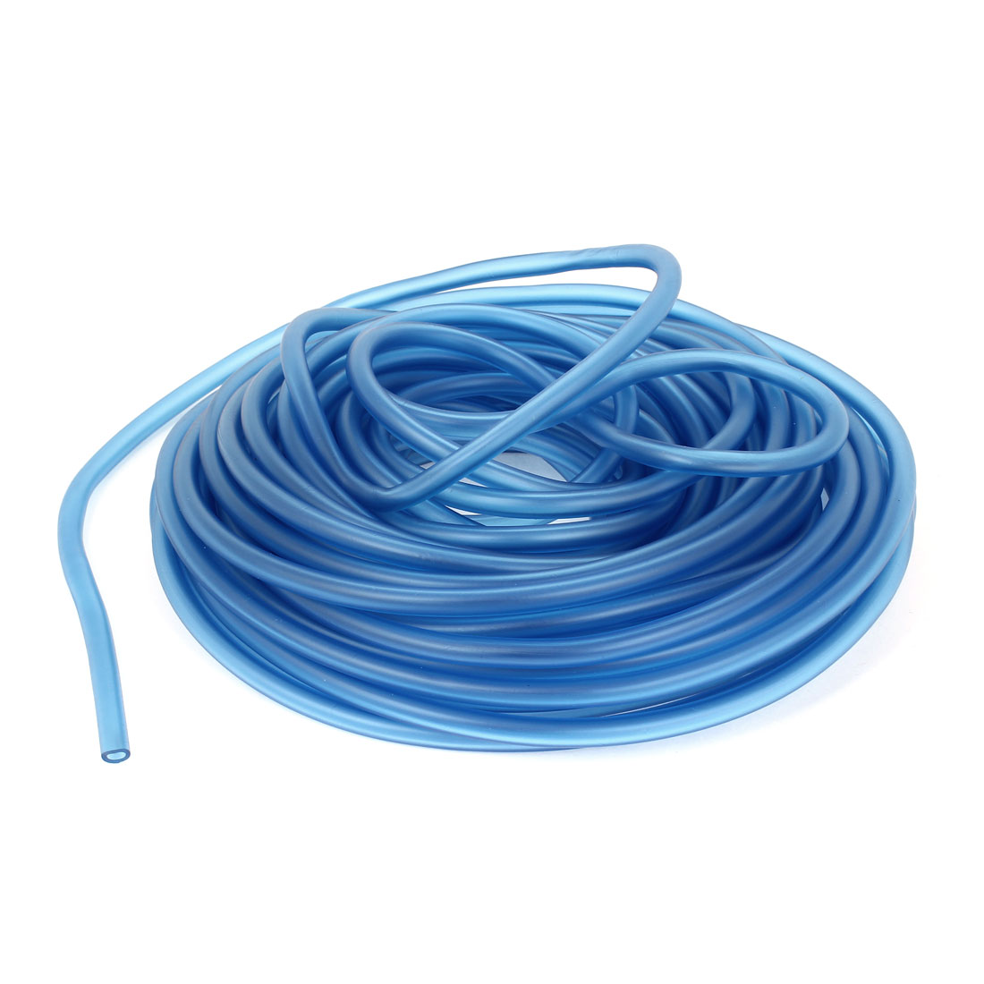 UXCELL 8Mm Od 4Mm Inner Dia Blue Silicone Fuel Line Tube Pipe 18 Meters