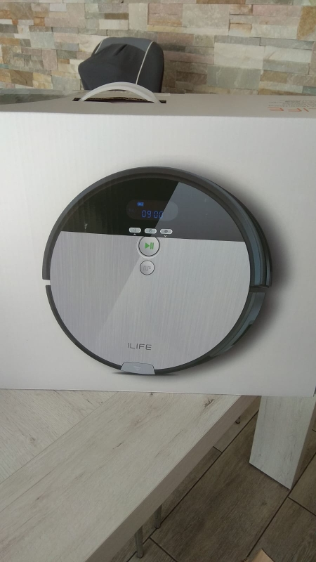 ILIFE V8s Robotic Vacuum Cleaner Wet and Dry mode,Smarter technical cleaning