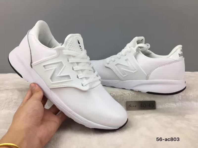 New Balance NB421 Men Sneakers Running weightlifting Shoes outdoor limited edition Sports Shoes White size 40-45 Free S