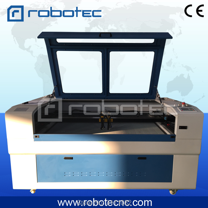 Double heads cloth laser engraving machine/wood co2 laser cutter machine/plastic laser cutting machine laser wood cutter wood laser cutting machine laser cutting rocking horse