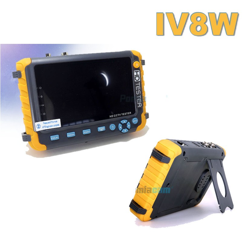 Image 5 - CCTV TESTER 5MP safety protection 5 INCH Tester AHD TVI 4MP CVI Analog  CCTV Tester Monitor VGA HDMI UTP Cable Test 8W-in CCTV Monitor & Display from Security & Protection