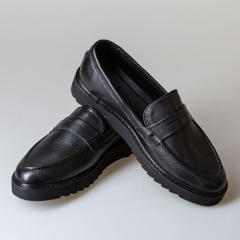 Bull En Cuir Hommes Bottes Printemps Automne Et Hiver chaussures pour homme bottine Hommes chaussure de neige de Travail grande taille 39-44 000- 012