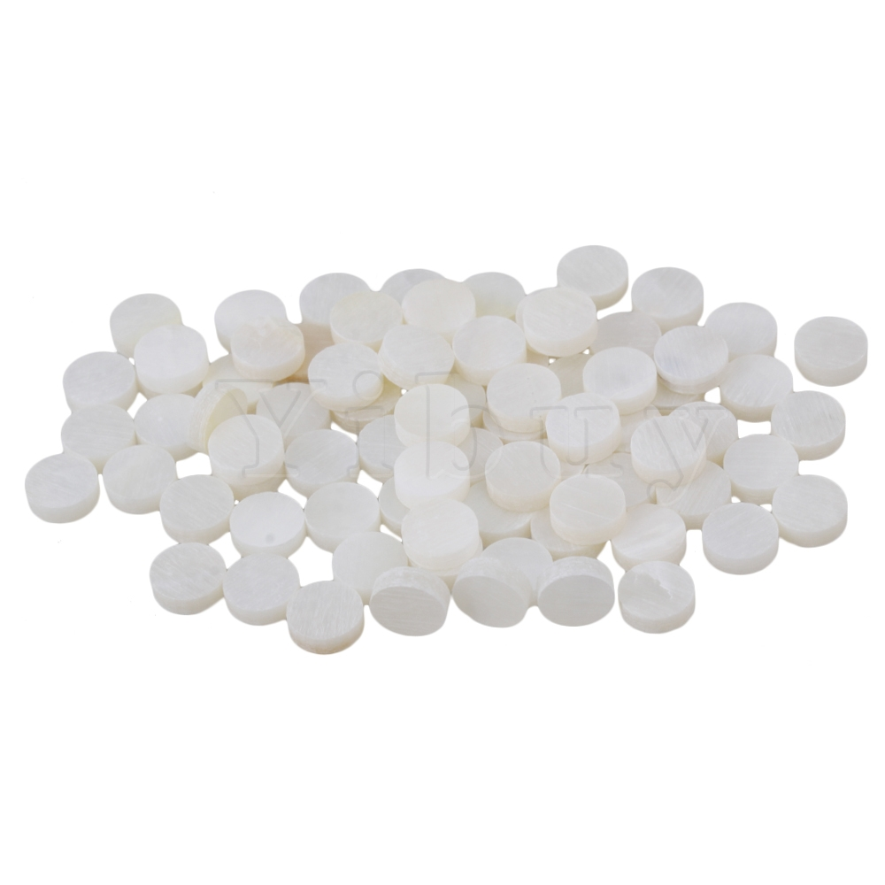 Yibuy 400 PCS 6mmx2mm Pearl Inlay Material Guitar Fingerboard Dots for Guitar