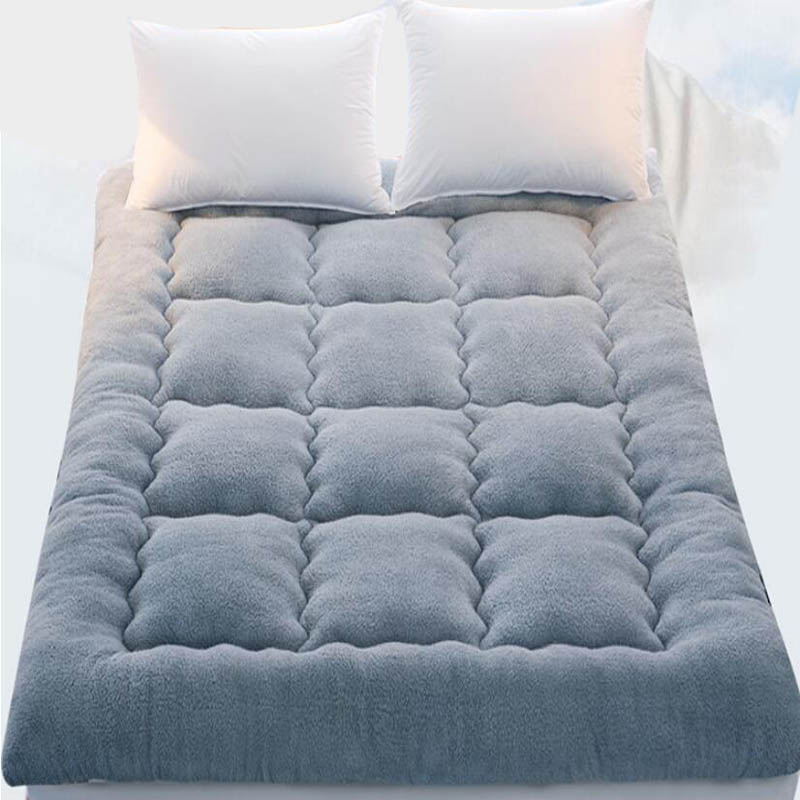 Wohnmöbel Faltbare Verdicken Berber Fleece Winter Bett Schlafen Matratze Pad Baby Playin Teppich Tatami Teppich Student Sleeper Bett Kissen Matten Verkaufsrabatt 50-70%