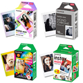 Фотобумага Fujifilm Instax Mini 9, 10/20/30 листов, белая монохромная Радужная Макарон Для мгновенных камер Mini 7s 8 70 90