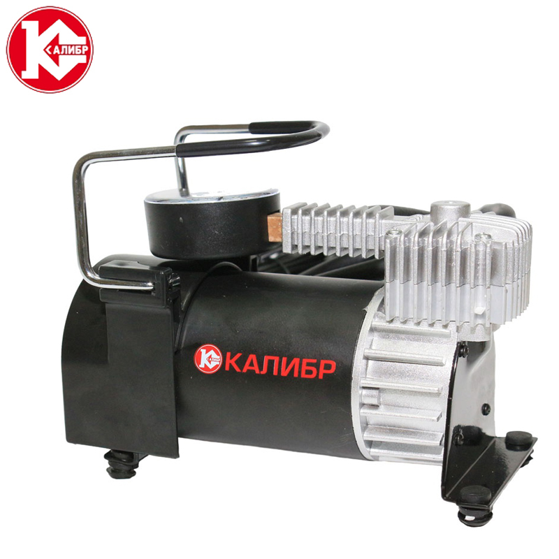 Kalibr AK40-R15 Portable Emergency Heavy Duty  Cylinder Car Air Compressor Tire Inflator Pump Universal for Car Trucks Bicycle