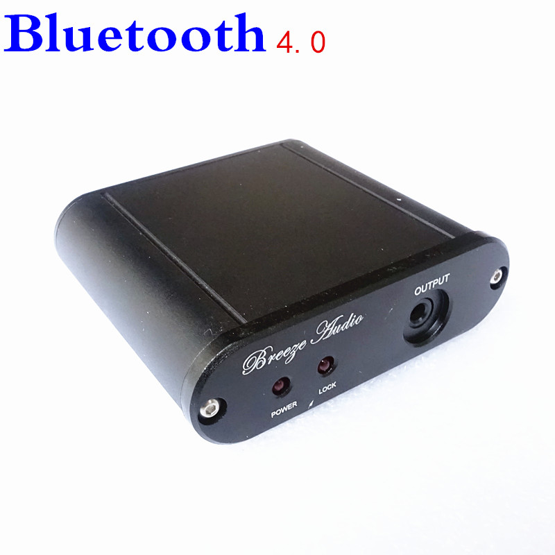Tragbares Audio & Video Unter Der Voraussetzung Brise Audio Drahtlose Bluetooth-empfänger Audiomusik-empfänger-adapter 3,5 Mm Ausgang Verstärkers Aktive Lautsprechers Kopfhörer S1