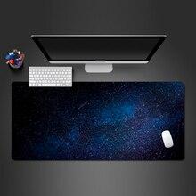 Прохладный звездное небо Мышь Pad Профессиональные ПК компьютерной игры XL Мышь pad Wot резиновая моющиеся большой стол коврик к Gamer Рождественский подарок коврик